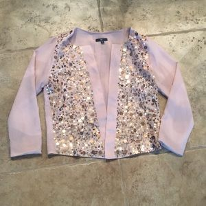 Sequin jacket!